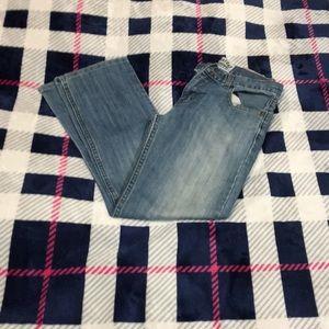 Distressed Boys Levi Jeans